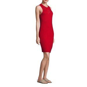 Rag&Bone new women's red knit sleeveless dress